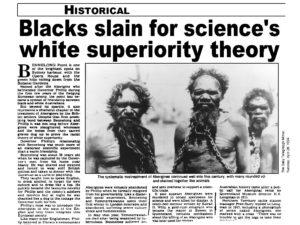 racisme et objets de science
