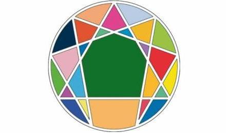 9 points équidistant sur un cercle. Un symbole occulte des lois de l'univers?